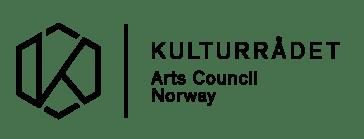 Kulturrådet, sort logo